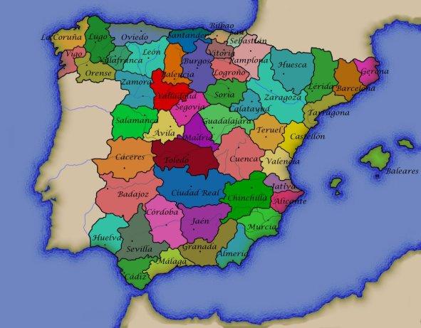 Division provincial de 1822