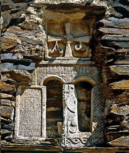 Frontal de la ermita de la Santa Cruz