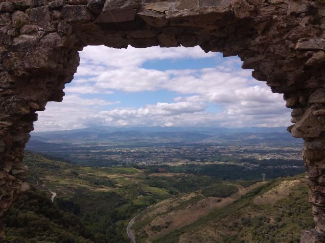 Vistas desde el castillo de Cornatel